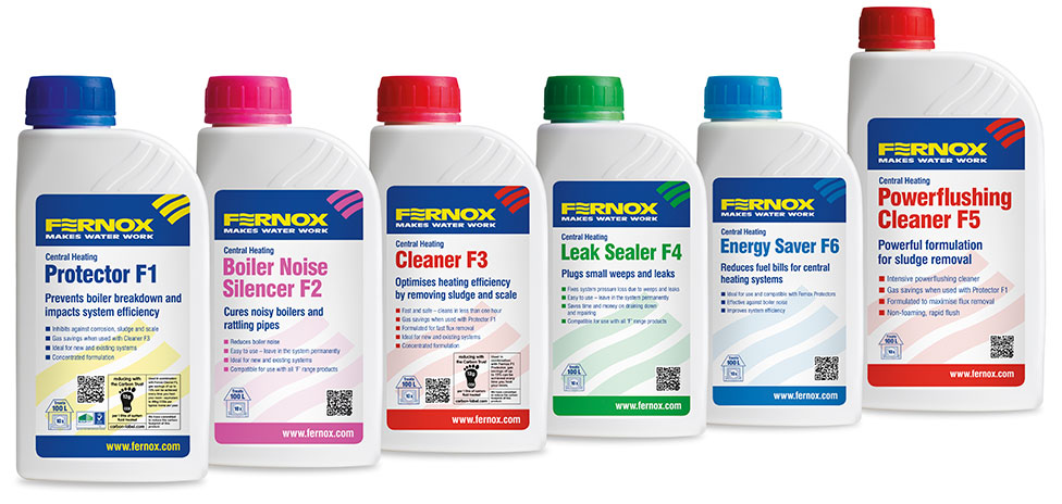 Power Flushing Service: Fernox Chemicals